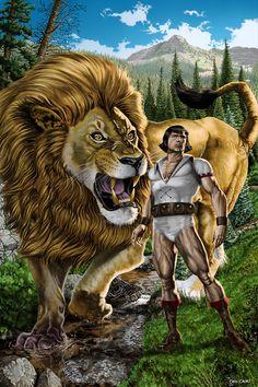 Hanna Barbera's Young Samson and Goliath by Caio Cacau