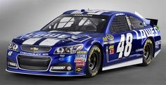 Jayski's® NASCAR Silly Season Site - 2013 NASCAR Sprint Cup Series #48 Paint Schemes
