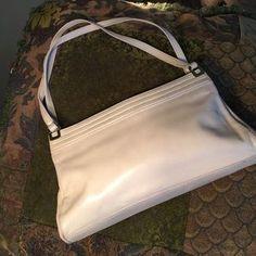 Handbags - Vintage Handbag with Snap Center Compartment