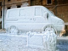Frozen van Stock Image , #SPONSORED, #van, #Frozen, #Image, #Stock #AD