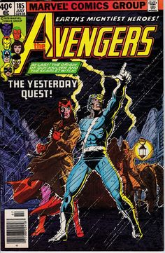 Avengers 185 July 1979 Issue  Marvel Comics  Grade by ViewObscura