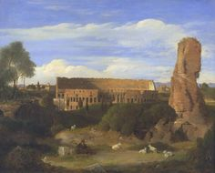 'The Colosseum from the Campo Vaccino', Sir Charles Lock Eastlake | Tate