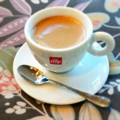 Illy Coffee kind of morning.