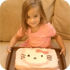 hello kitty cake... Hello Kitty Cake, Desserts, Food, Home Decor, Tailgate Desserts, Meal, Deserts, Essen, Dessert