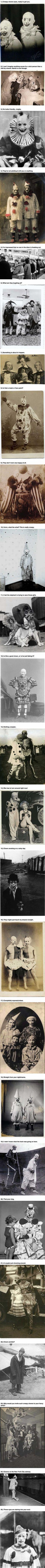 These 25 Vintage Clown Photos Are Mega Creepy