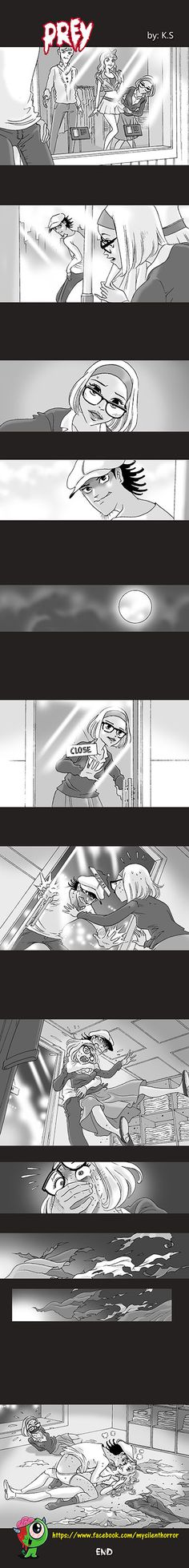 Silent Horror :: Prey | Tapastic Comics - image 1