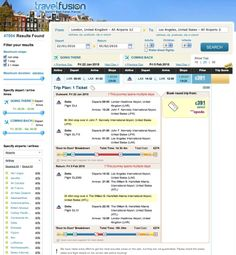 TravelFusion building point-to-point tools, start of a giant leap for metasearch