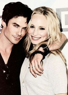 Ian and Candace - they are both beautiful. Ian sure knows how to make love to a camera.
