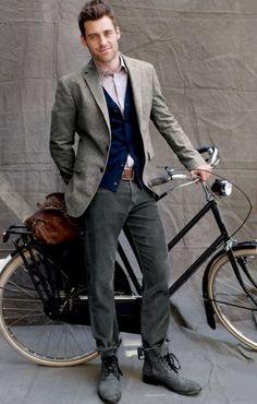 Well dressed Urban man, chic