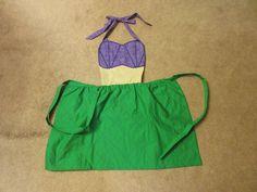 "Disney inspired ""The Little Mermaid"" apron"