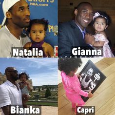 Kobe Bryant And Wife, Kobe Bryant Daughters, Kobe Bryant Family, Kobe Bryant 24, Lebron James And Wife, Baby Girl Blue Eyes, Kobe Bryant Pictures, Vanessa Bryant, Cute Relationship Texts