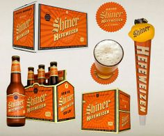 #packaging shiner beer texas bottle