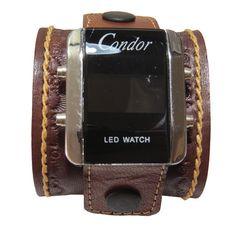ead7b10341d Bracelete de Couro para relógio Furlão Arte em Couro www.furlao.com.br