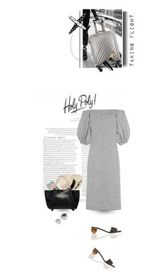 """""""Life takes you to unexpected places, love brings you home .. please read"""" by blonde-bedu ❤ liked on Polyvore featuring Karl Lagerfeld, Chanel, Charlotte Olympia, Lisa Marie Fernandez and Mykita"""