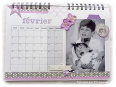 Bonjour, Avec la reprise du travail, je n'ai pas eu beaucoup de temps pour moi depuis dix jours... Aujourd'hui, je vous poste vite un petit article concernant le calendrier que j'ai réalisé pour une amie, avec des photos magnifiques en noir & blanc, comme...