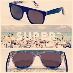 Super Flat Top - Black Riviera #retrosuperfuture #supertr #blackriviera #visiva #sunglasses