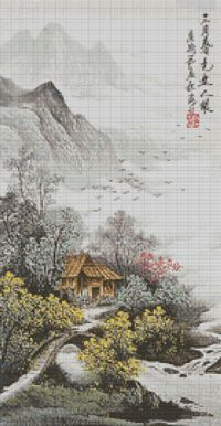 Gentle Scenery cross stitch kits