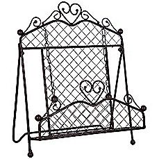 image of Home Essentials & Beyond Wire Cookbook Stand