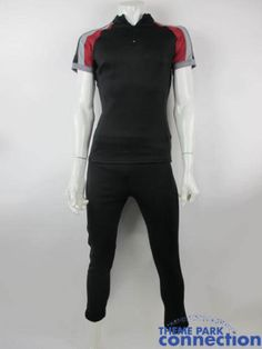 THE HUNGER GAMES District 8 Boy Training Original Movie Production Used Costume