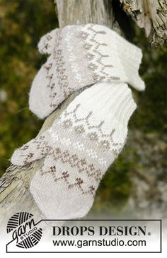 Talvik / DROPS - Free knitting patterns by DROPS Design Talvik / DROPS - Free knitting patterns by DROPS Design History of Knitting Wool spinning, weaving and stitching . Baby Knitting Patterns, Crochet Sock Pattern Free, Knitted Mittens Pattern, Knitted Gloves, Knitting Socks, Knitting Designs, Free Knitting