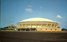 Chrome Postcard New Mid-South Coliseum Memphis, TN 50th Birthday Celebration Ideas, Bluff City, Memphis Tigers, Nostalgic Images, Memphis Tennessee, Great Memories, Childhood Memories, Little Rock, Parks And Recreation
