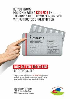 How to do by Vinod: MEDICINES WITH A RED LINE ON THE STRIP
