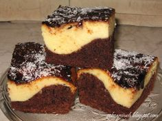 Polish Recipes, Polish Food, Homemade Cakes, Cake Recipes, Sweet Tooth, Cheesecake, Cooking Recipes, Baking, Easy