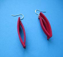 orecchini Elix rossi