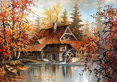 Pintor de PAISAGENS Polonês - Stanislaw Wilk