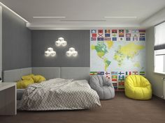Design teen room (Комната подростка)