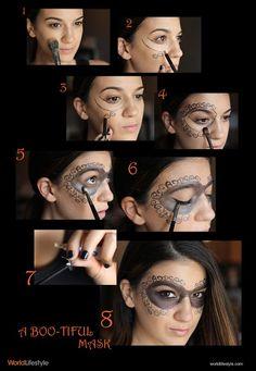 Halloween Face Mask Tutorial
