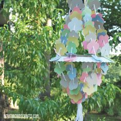 Paper Chandelier   Fun Family Crafts