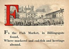 F is for Fish Market