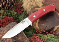 KnivesShipFree - Bark River Knives: Classic Drop-Point Hunter - Elmax - Red Linen Micarta, $232.47 (https://www.knivesshipfree.com/bark-river-knives-classic-drop-point-hunter-elmax-red-linen-micarta/)