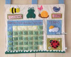 Calendario Kids Crafts, Frog Crafts, Diy And Crafts, Diy Calendar, Classroom Calendar, Play School Activities, Waldorf Montessori, Kindergarten, Paper Artwork