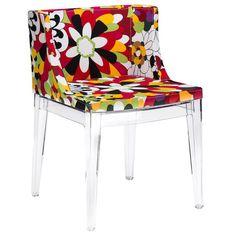 EdgeMod EM-150-CLR Flower Dining Side Chair