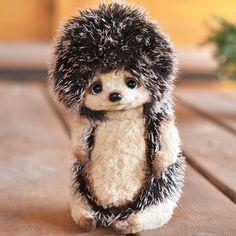 Новый ежичка)) продан. #ежик #еж #тедди #ручнаяработа #авторскаяигрушка #катябеспалова #handmade #handmadetoy #hedgehog #teddybear #artistteddy #teddykind #katyabespalova