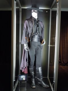 Guy Williams Zorro TV costume on display at Disney's D23 Expo