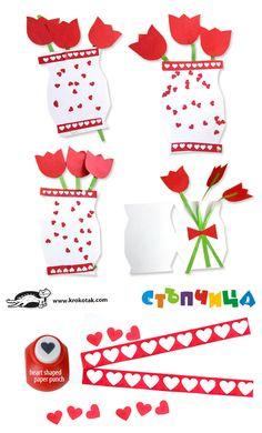 А vase with flowers