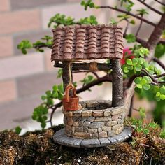 Jardín de hadas miniatura y hadas de terrario por myfaerygardens