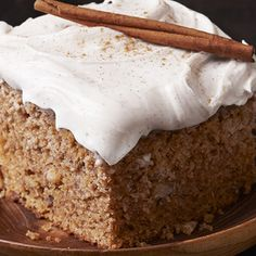 Old Fashioned Applesauce Spice Cake: Savor the warm feelings of comfort and contentment from this Old Fashioned Applesauce Spice Cake, a long-time favorite recipe. Bake a slice of nice today.