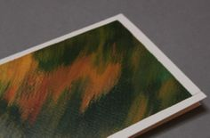 Hand painted greeting card Abstract Art  Color's by Abicartes, €4.50