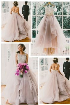 Princess Wedding Dress,Ball Gown Wedding Dress,Romantic Wedding Dress,Backless Wedding Dress,WS034 Only accept payment from PayPal, there is USD5 discount for payment by Paypal, discount code: paypalc