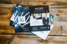 Reach new customers with EDDM® postcards. Printed for Fade Hair Salon.