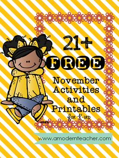 November is here and that can only mean one thing ~Turkey Time! Thanksgiving is on everyone's mind. No wait...Thanksgiving BREAK is on everyone's mind I'm sure.To keep your students engaged, I rounded up 21 freebies for you to use. I think these activities and printables are…