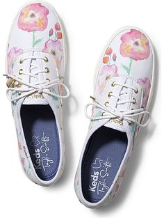6f1e5dcbbe9698 Keds Taylor Swift s Champion Flower Painting Taylor Swift Shoes