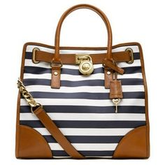 c64e56662835 MICHAEL KORS STRIPED PURSE..just bought this today!! So in love!