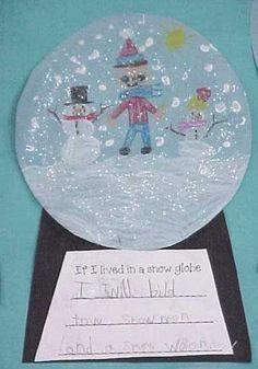 snow globe education