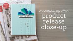Jennifer McGuire reviews the Late Summer 2016 Essentials by Ellen release + TONS OF CARDS and TECHNIQUES!! #EllenHutsonLLC #EssentialsbyEllen