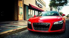 Red Audi R8 HD Wallpapers 1080p Super Cars